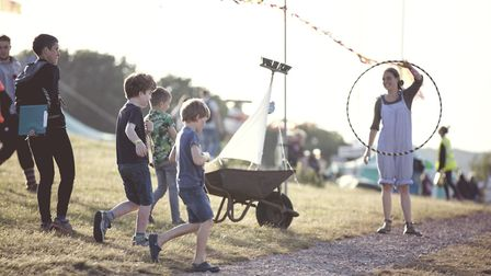 Samphire Festival attracts a varied crowd of festival-goers