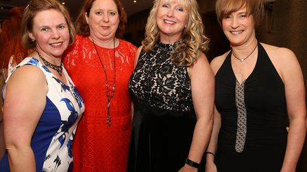 Ann Knowles, Sharon Blinston, Julie Connor and Alison Loughran