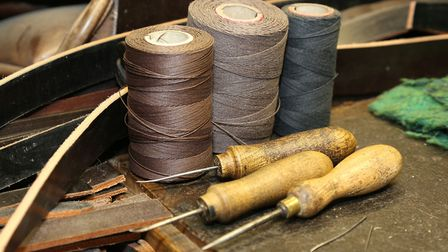 Linen sewing thread in different thicknesses