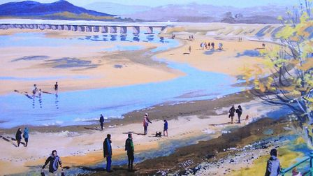 The estuary is a recurring theme in Peters work