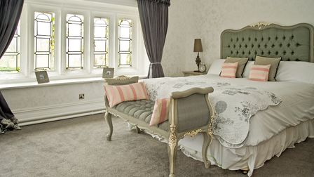 A suite perfect for honeymoons