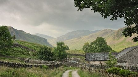 Upper Eskdale from Taw House farm by Niels Rasmussen