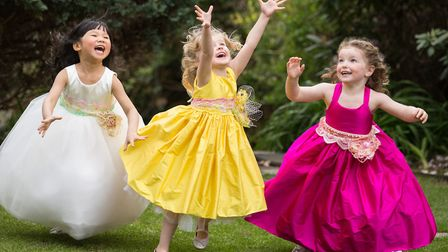 The designers want the girls to have fun when wearing their dresses