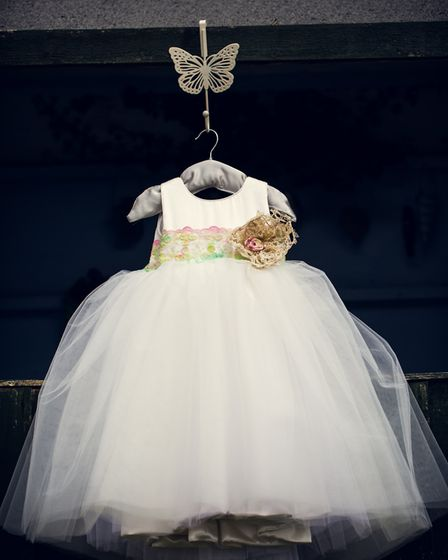 One of the beautiful dresses from Enchanted