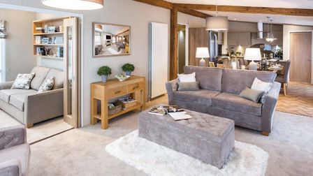 Example luxurious Lodge for sale at Ribby Hall Village