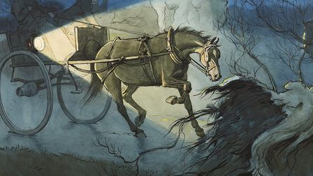 Black Beauty, illustrated by Cecil Aldin