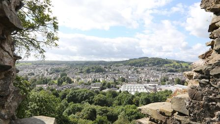Views over the town from Kendal Castle by Kirsty Thompson