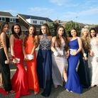 Immaculate make-up and stunning dresses as students pose for shots