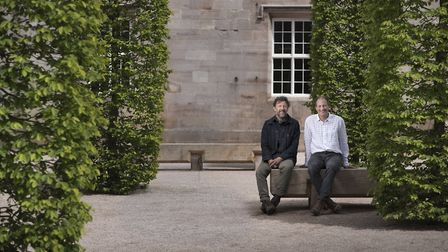 Dan Pearson and Jim Lowther at Lowther Castle