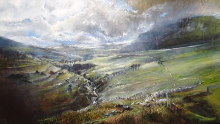 Kate Bentley's Summer Storms painting won last year's competition