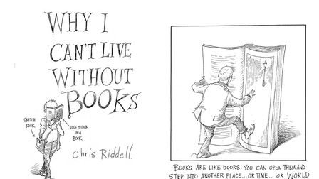 From Travels with my Sketchbook by Chris Riddell