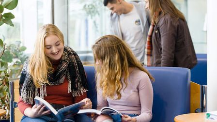 Students at Truro and Penwith College