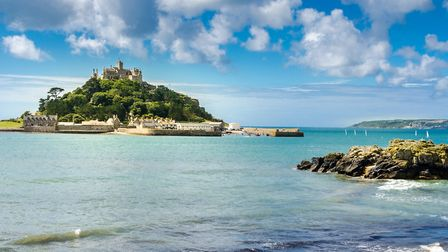 St Michael's Mount in Cornwall by Photography Cornwall, Shutterstock