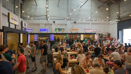 The Baltic Market is averaging 10,000 visitors per weekend (credit: Tony Hodgkinson, www.teehtravel.