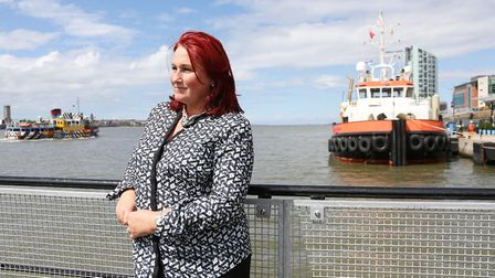 Angie Redhead, head of Liverpool Cruise Terminal, St George's Hall and Liverpool Town Hall