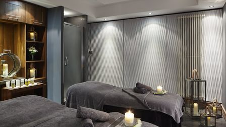 One of the relaxing treatment rooms