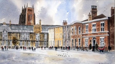 Hope Street, Liverpool by Michael Treanor