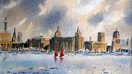 Red Sails, Liverpool by Michael Treanor