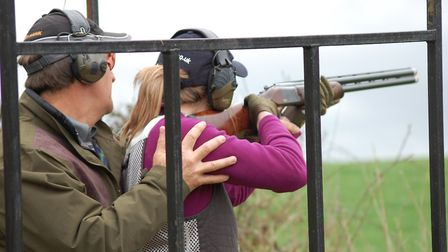 The instructor on your have-a-go day will do their best to ensure you hit some targets
