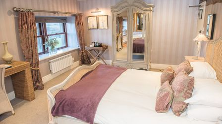 One of the 18 beautiful bedrooms at the Shireburn Arms