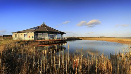 Abberton Reservoir visitor centre by Dave Watts