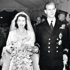 Princess Elizabeth and Philip Mountbatten marry at Westminster Abbey on November 20, 1947