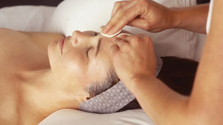 The treatment is very different to the facials I've had before – it's not so much centred on making
