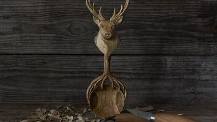 Stag Spoon by Giles Newman