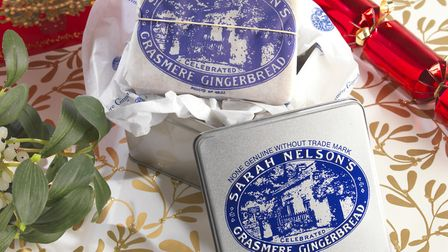 Delicious gingerbread from the historic Sarah Nelson business