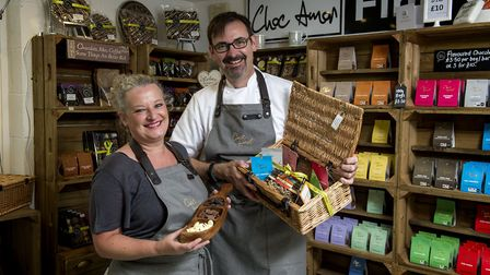 Paul and Jacqui Williams of Choc Amor