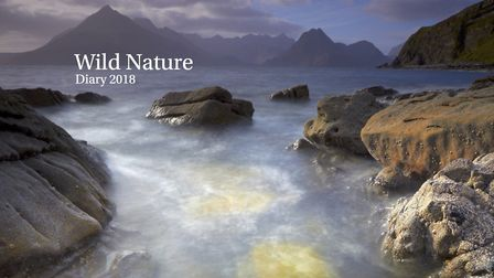 The 2018 Wild Nature diary contains nine shots by Jeanie Lazenby