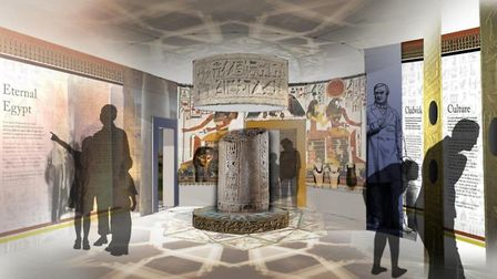 Bolton Museums Egyptology gallery