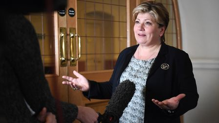 Shadow foreign secretary Emily Thornberry. Photograph: Kirsty O'Connor/PA.