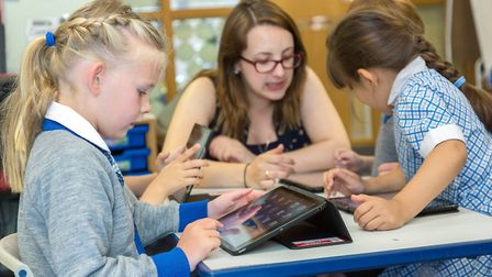 Infants enjoy quality teaching and ultra-modern facilities and technology