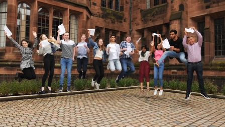 Bolton School Oxbridge Students celebrate their A Level results
