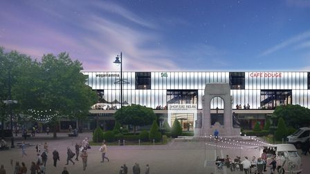 What Crompton Place and Victoria Square could look like in the new plans