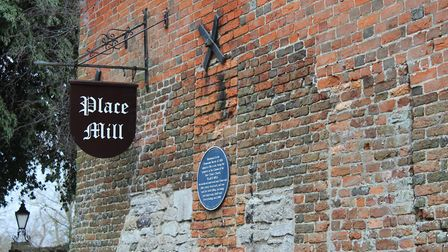 Your starting point at Place Mill