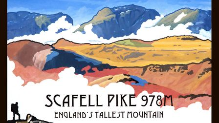 Scafell Pike by Nicholas Leigh