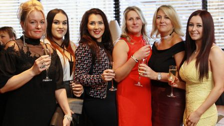 Joanne Hargreaves, Chloe Hargreaves, Rachel Baines, Kate Farmer, Michelle Sordon and Becky Holden