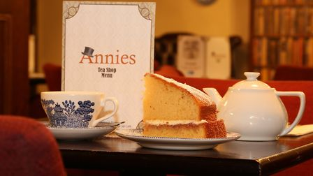 Afternoon treats at Annies