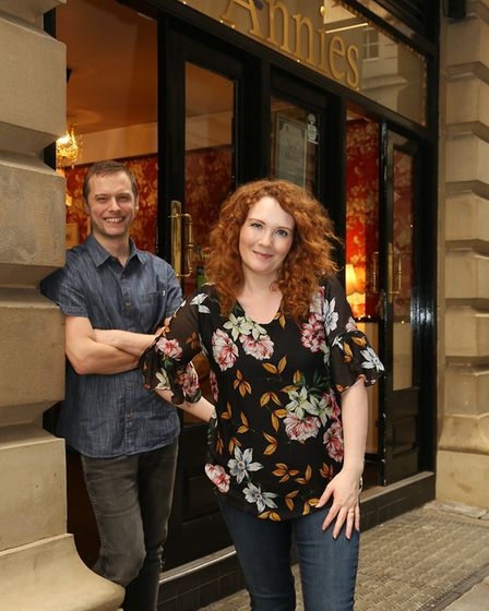 Chris Farr and Jenny McAlpine opened Annies five years ago