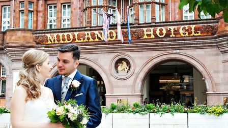 Get married at the iconic Midland Hotel in Manchester