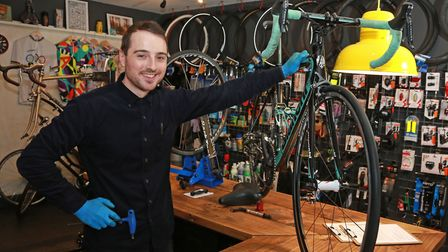Rory Buckingham, owner of Spinwell Cycleworks
