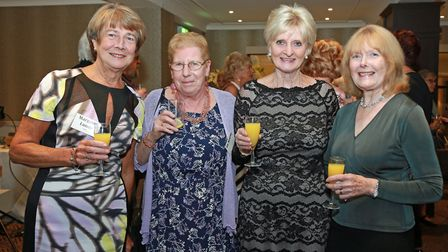 Margaret Lundy, Viv Kearns, Mary Moss and Patsy Shiels