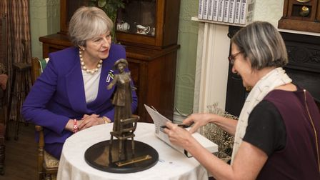 Theresa May visits Manchester for the 100th anniversary of the Representation of the People Act 1918