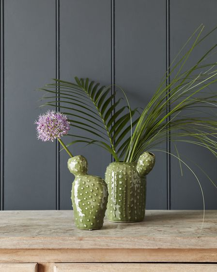 Living plants and fresh flowers always bring an element of natural beauty into the home