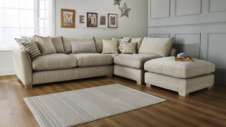 However big your living space, a corner sofa is probably the ultimate way to do comfortable seating.