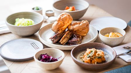 Roast dinners are a sharing affair at Socius