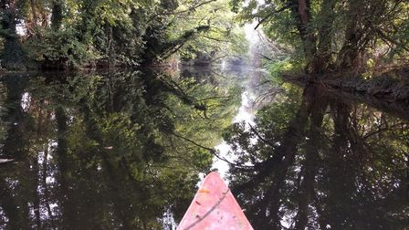 An earlier trip down the Stour. Photo: James Treadway