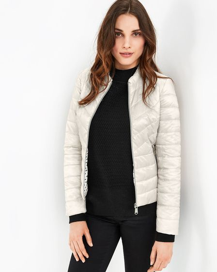 Taifun Quilted Jacket, £140; Stringers